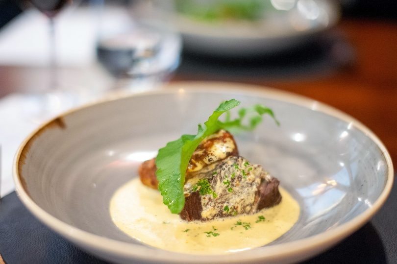 Melt-in-the-mouth tender beef cheeks